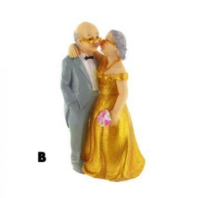 figurine gateau mariage 50 ans