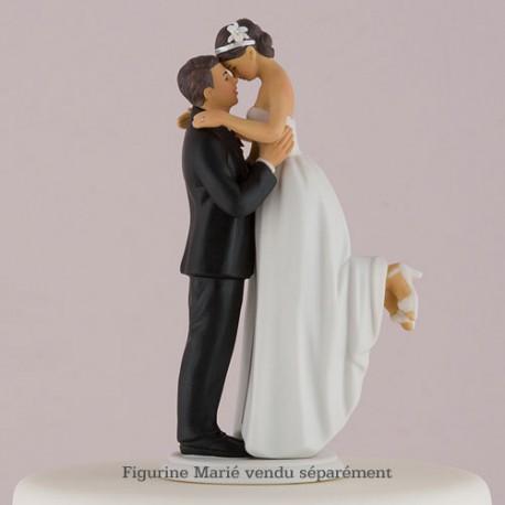 figurine gateau mariage asiatique