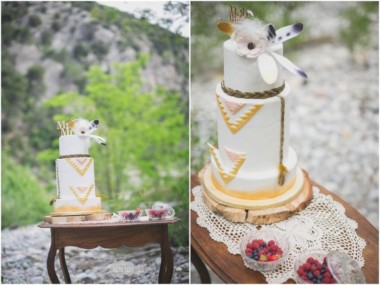figurine gateau mariage boheme