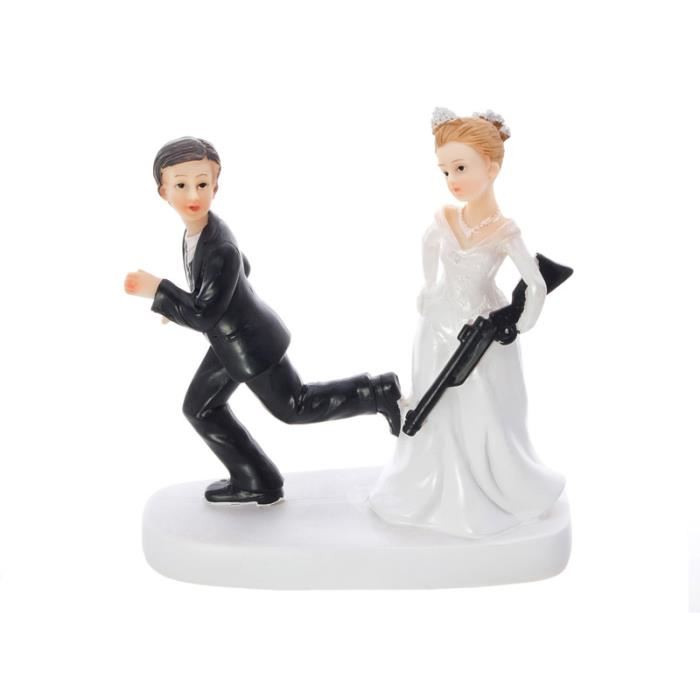figurine gateau mariage chasseur