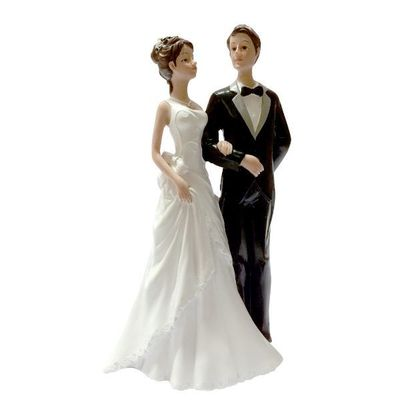 figurine gateau mariage chic