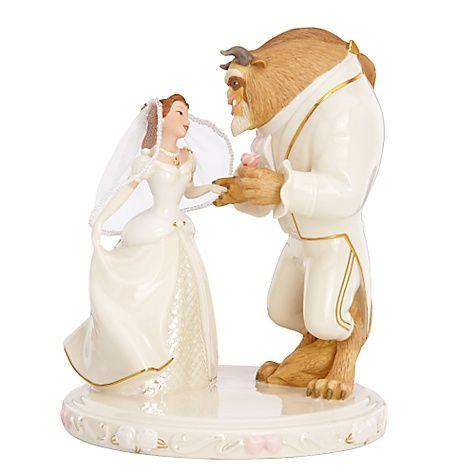 figurine gateau mariage disney