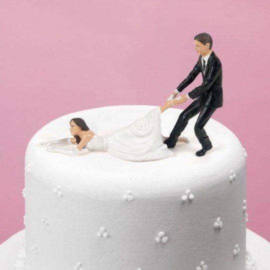 figurine gateau mariage facile