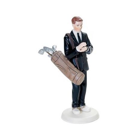 figurine gateau mariage golf