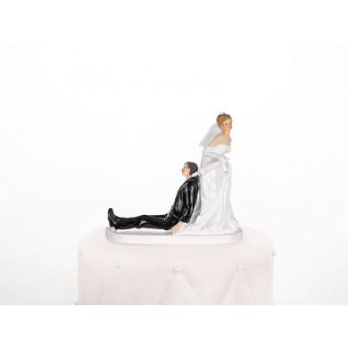figurine gateau mariage hiver
