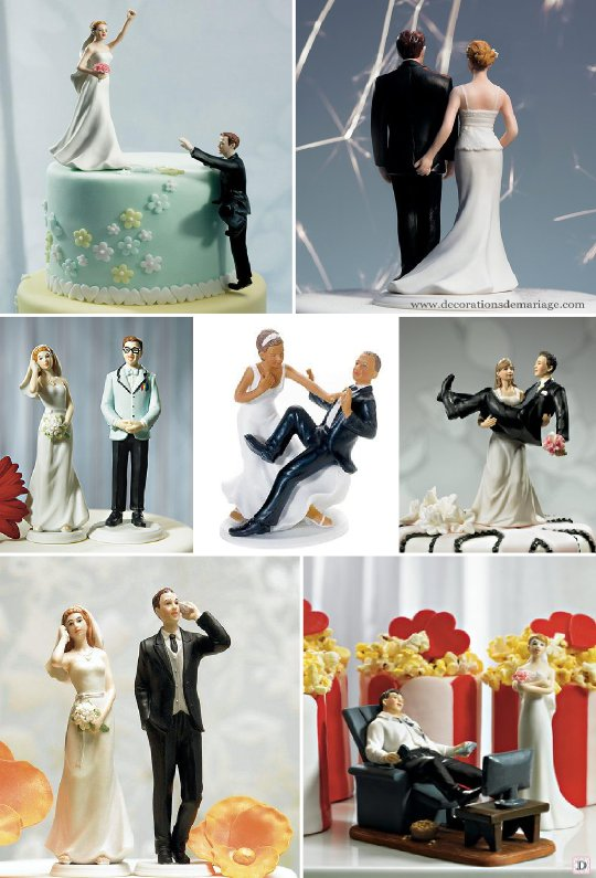 Figurine Gateau Mariage Humour Le Specialiste Des Desserts De Mariage