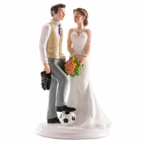 figurine gateau mariage nature