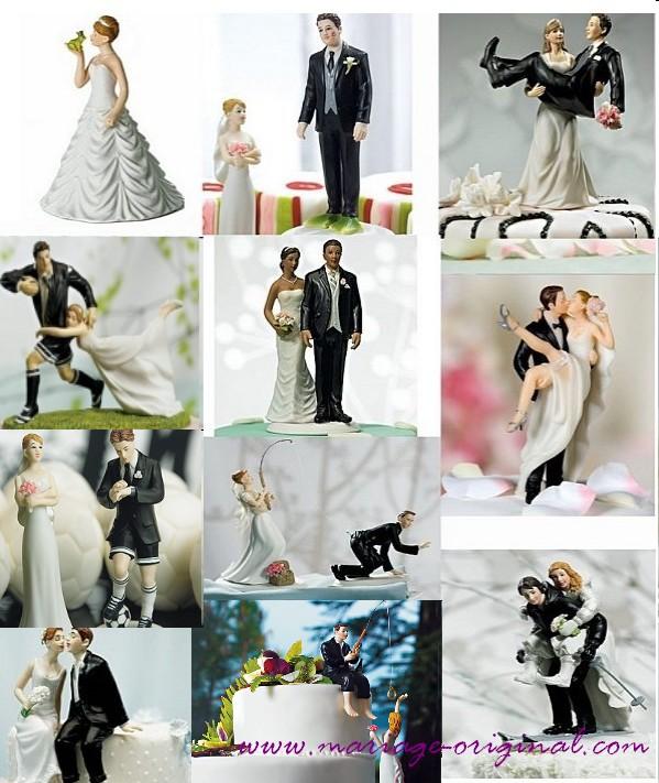 figurine gateau mariage paris