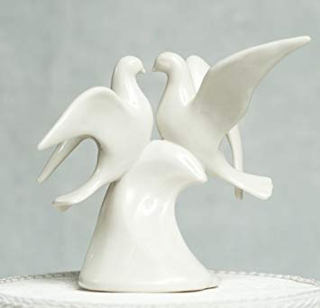 figurine gateau mariage porcelaine