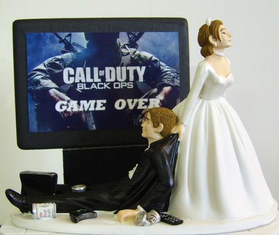 figurine gateau mariage ps4