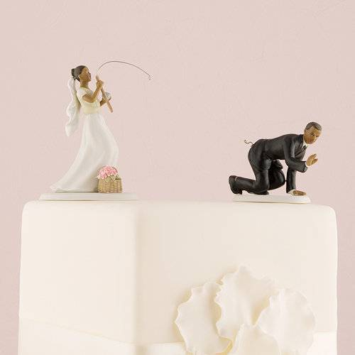 figurine gateau mariage rock