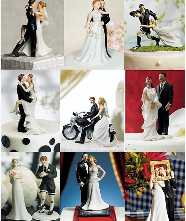 figurine gateau mariage sport