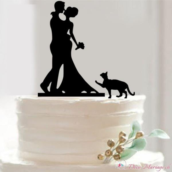 figurine gateau mariage suisse