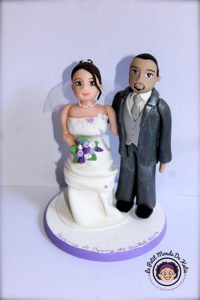 figurine gateau mariage sur mesure