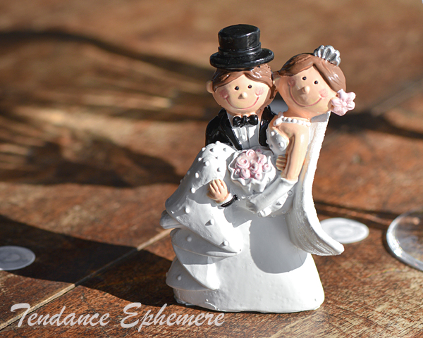figurine gateau mariage tennis