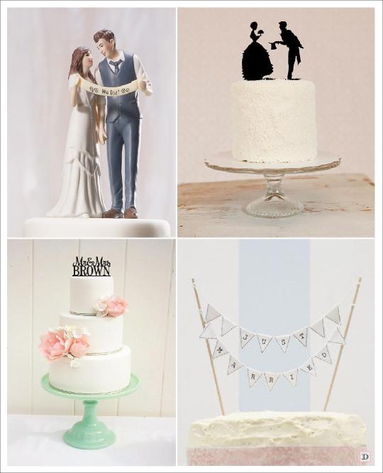 figurine gateau mariage vintage