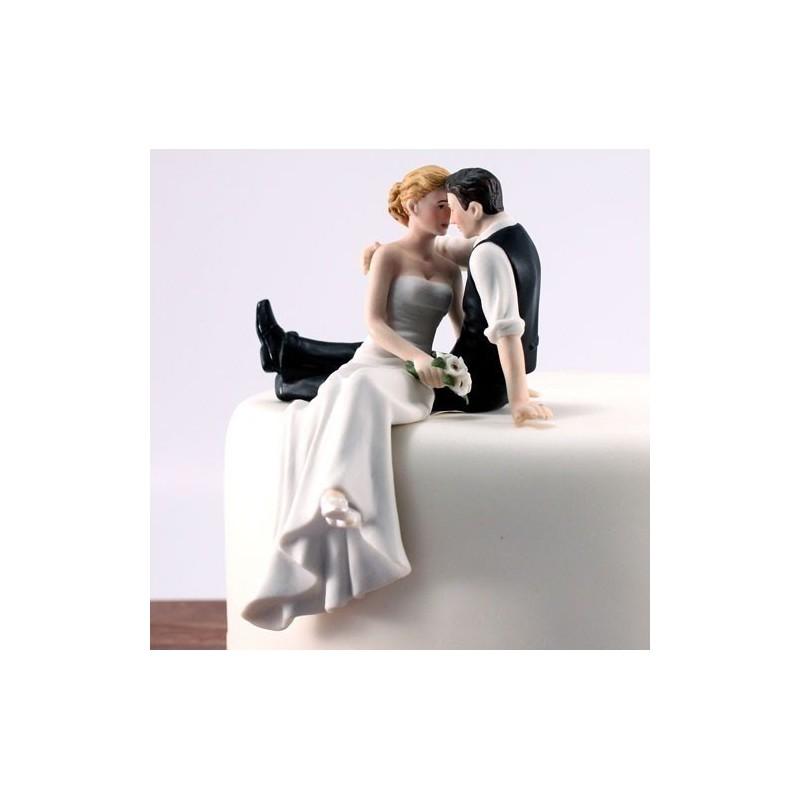 figurine gateau mariage western