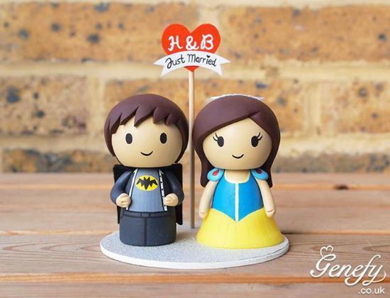 gateau mariage batman