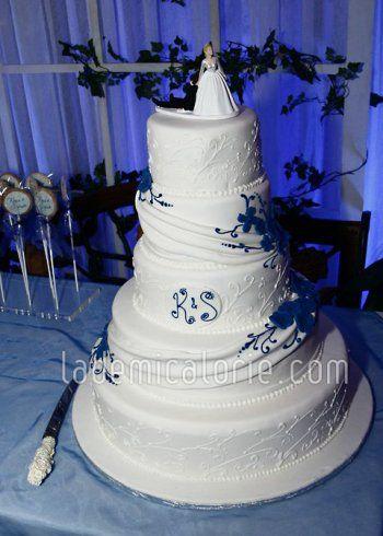 Gateau Mariage Bleu Le Specialiste Des Desserts De Mariage