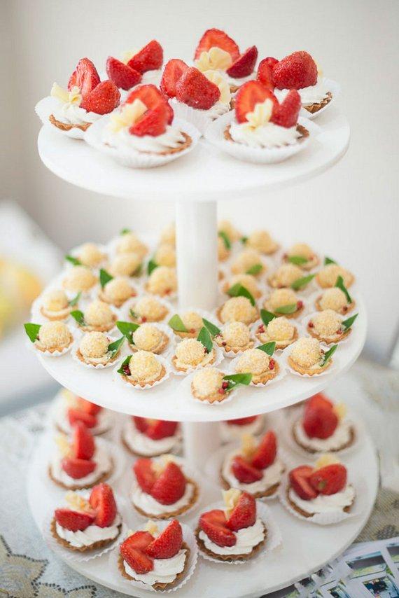gateau mariage cupcake
