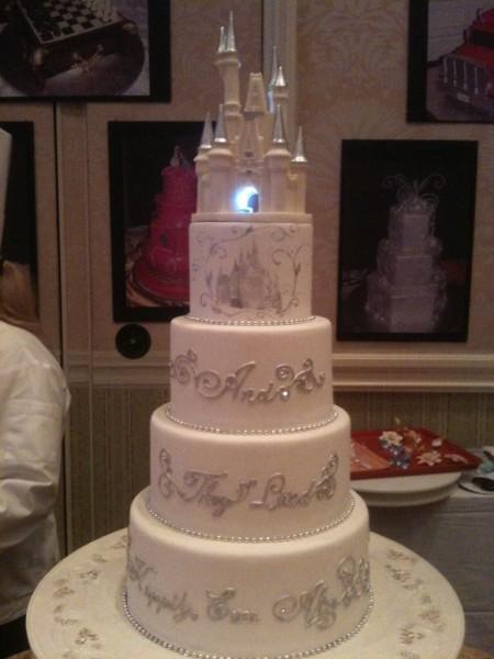 gateau mariage disney
