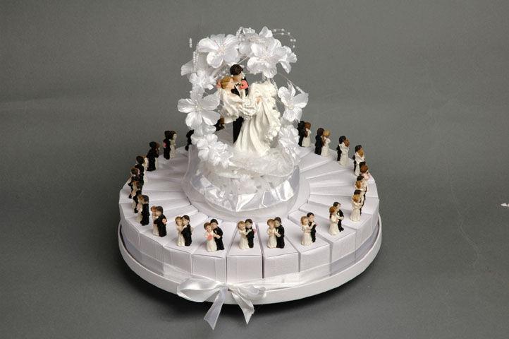 gateau mariage dragee