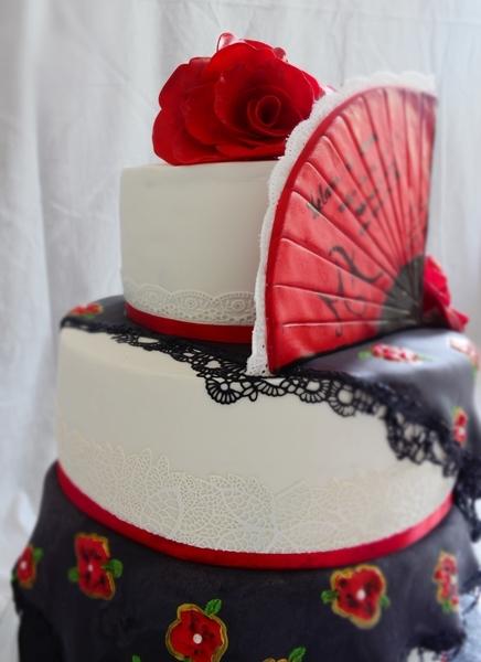 gateau mariage espagnol