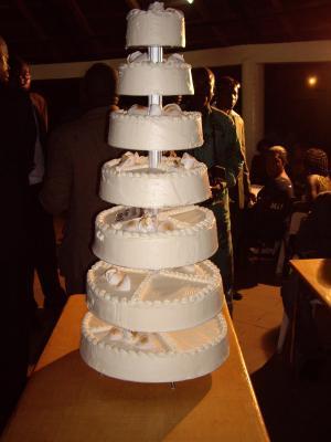 gateau mariage etage