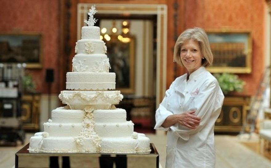 gateau mariage famille royale