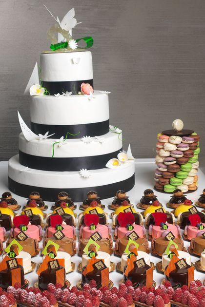 gateau mariage fes