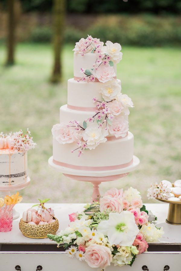 Gateau Mariage Fleur Le Specialiste Des Desserts De Mariage