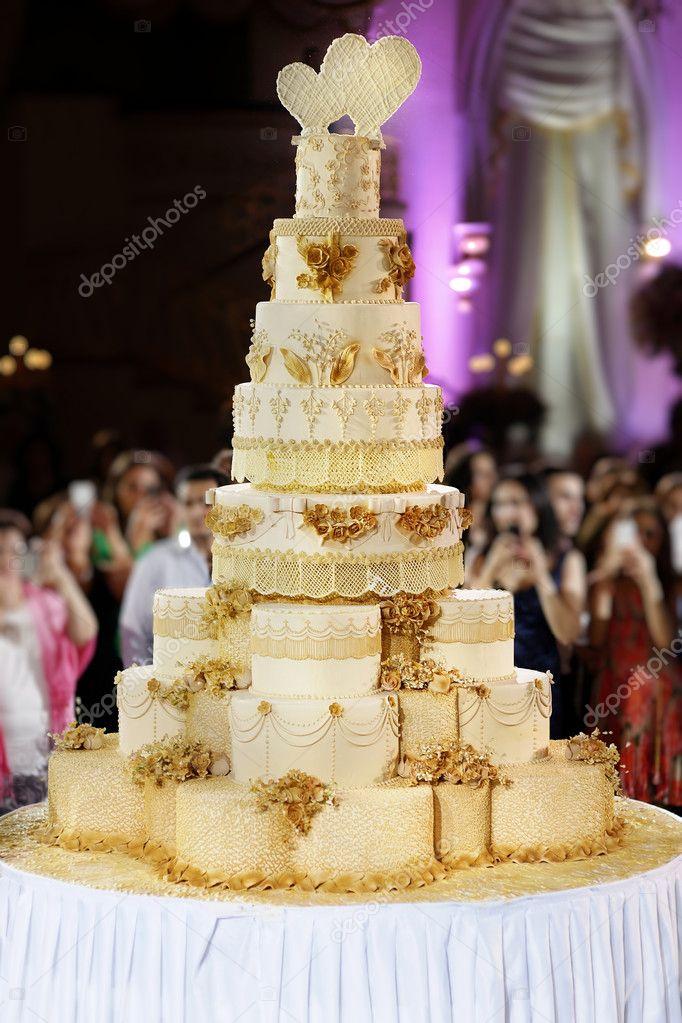 gateau mariage geant