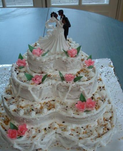 gateau mariage guadeloupe