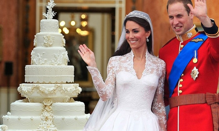 gateau mariage kate middleton