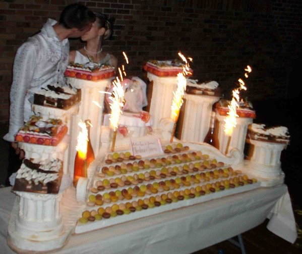 gateau mariage maison