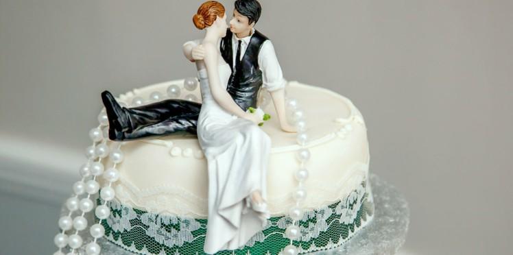 gateau mariage photo