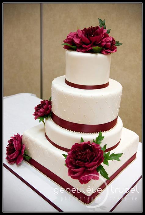 gateau mariage quebec