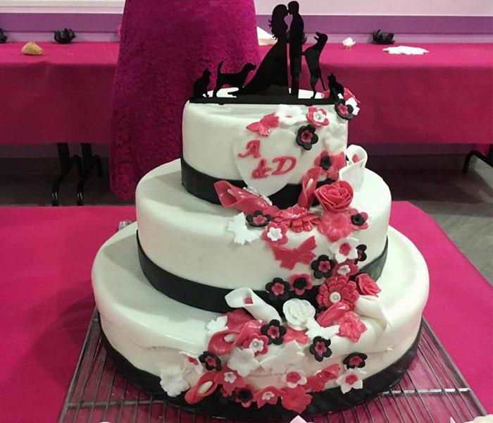 gateau mariage reims