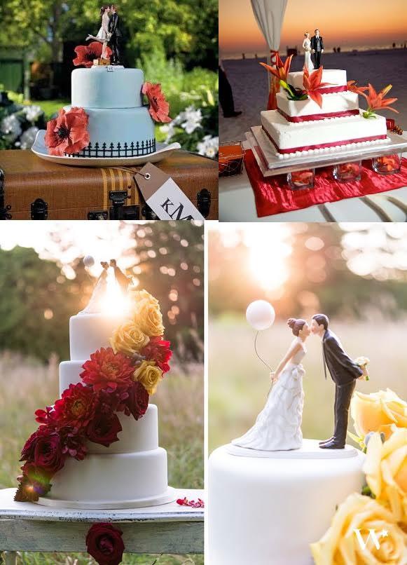 figurine gateau mariage nature - Le specialiste des