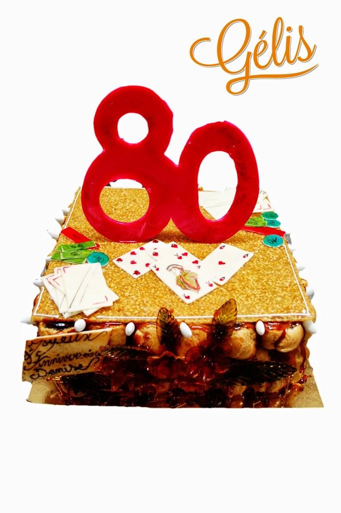 piece montee anniversaire 80 ans