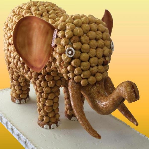 piece montee elephant