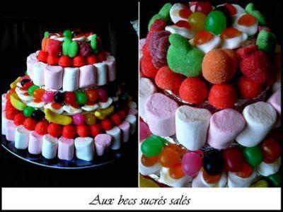 piece montee en bonbons