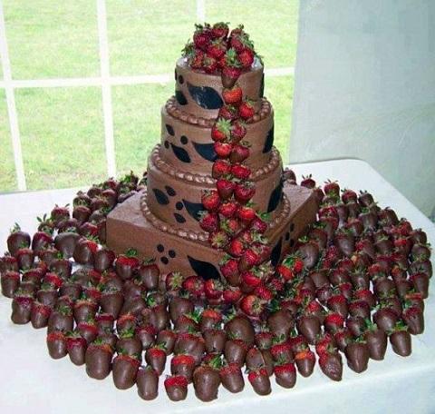 piece montee en chocolat