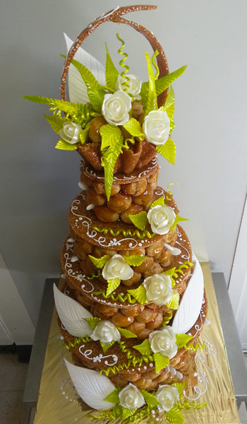 piece montee en choux - Le specialiste des desserts de mariage