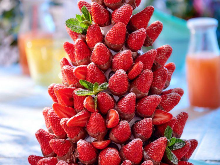 piece montee fraise