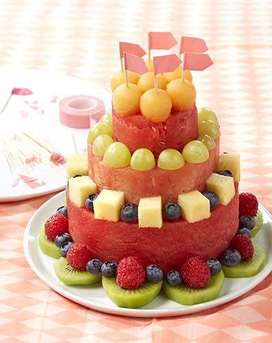 piece montee fruit