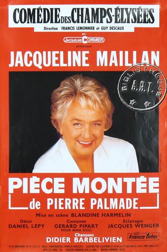 piece montee jacqueline maillan
