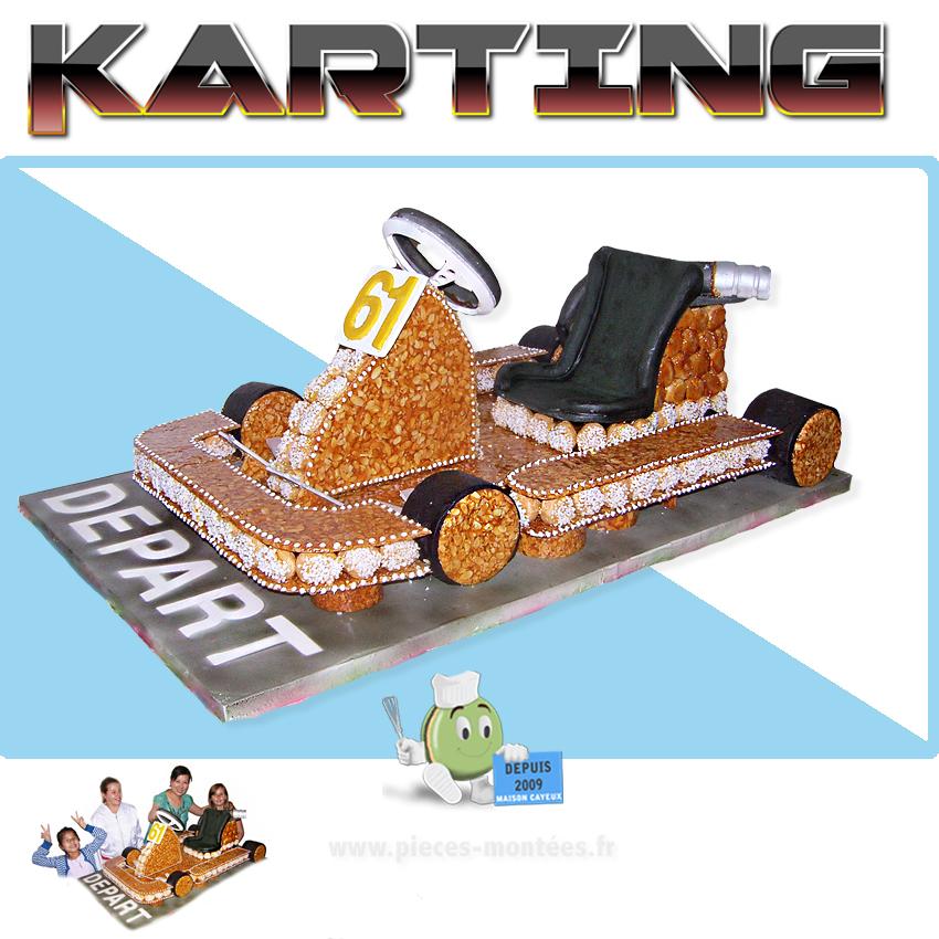 piece montee karting