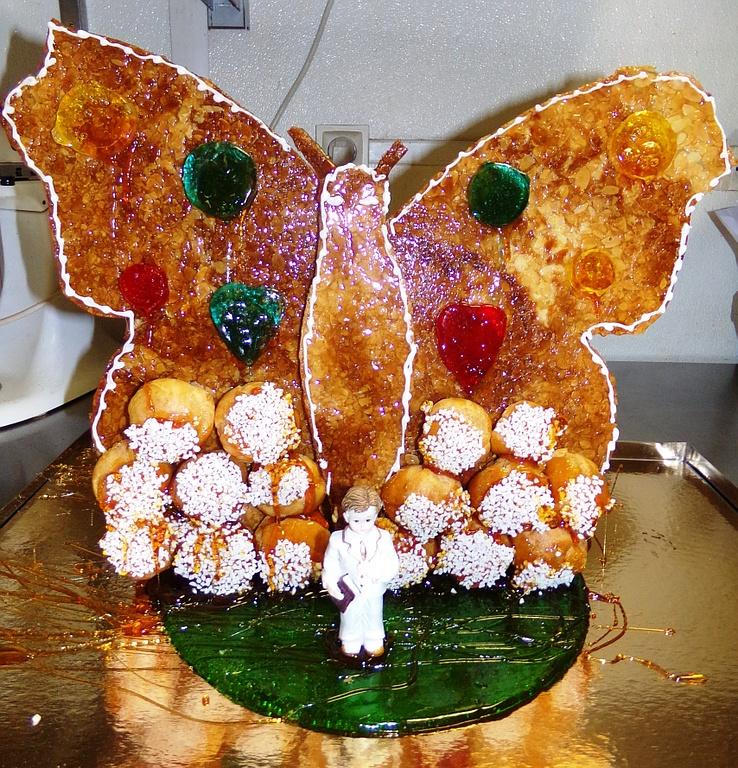 piece montee papillon
