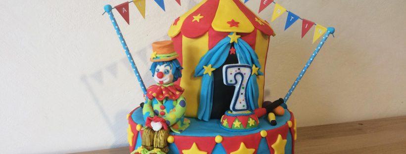 piece montee theme cirque